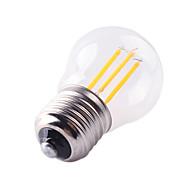 G45 4W E27 400LM 360 Degree Warm/Cool White Color Edison Filament Light LED Filament Lamp (AC220-240V)