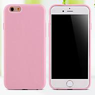 Para Funda iPhone 5 Other Funda Cubierta Trasera Funda Un Color Suave TPU iPhone SE/5s/5