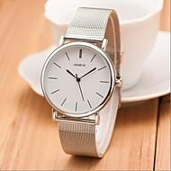 New Silver Casual Geneva Quartz Watch Women Metal Mesh Stainless Steel Dress Watches Relogio Feminino Clock Cool Watches Unique Watches