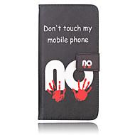 Red Handprint PU Material Purse Money phone Case for Samsung Galaxy S6 edge+/S6 edge/S6/S5/S4/S4MINI/S3MINI