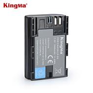 Kingma lp-e6 lp e6 lpe6 Digtal camera batterij voor canon eos 5D2 5D3 7d 6d 70d 60d mark II III