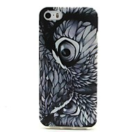 For iPhone 5 Case Pattern Case Back Cover Case Owl Soft TPU iPhone SE/5s/5
