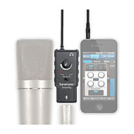 XLR mikrofon forforstærker audio adapter med phantom power til Apple iPad iPhone 4 5 6 plus Android smartphone