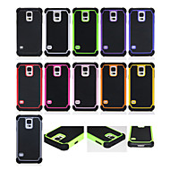 For Samsung Galaxy etui Stødsikker Etui Bagcover Etui Geometrisk mønster PC for Samsung S6 edge plus S6 edge S6 S5 S4 S3