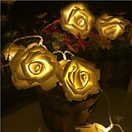 20 lamp rose battery box lamp string