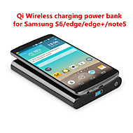 T800 Qi Portable Wireless Charger with 7000mAh for Samsung S6/edge/edge+/Note5/Nesux5/6 and other Qi phone