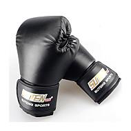 ボクシング・サンドバッグ用グローブ ボクシング・練習用グローブ グラップリンググローブ パンチングミット のために ボクシング 武術 総合格闘技(MMA) ミトン 防水 耐摩耗性 保護 PU フォームラバーSUTEN® ブラック