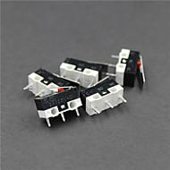 3 d nyomtató végálláskapcsoló, hatása kapcsoló, mikrokapcsoló érzékeny kapcsoló, intelligens autó, Robert accessoreis 5db