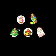 uutuus LED vilkkuu yövalot, joulu, santa, lumiukko, hirvi, puu