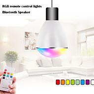 100V ~ 240V RGB LED беспроводная Bluetooth-динамик громкоговорителя лампы воспроизведение музыки&освещение с E27 дистанционного