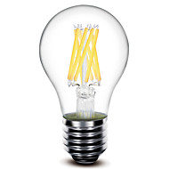 Lampade LED a incandescenza 8 COB 深美乐 A60 E26/E27 8 W Decorativo 800 LM Bianco caldo 1 pezzo AC 220-240 V