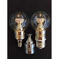 5W E14 / E26/E27 LED-kynttilälamput A50 25SMD SMD 2835 500 LM lm Lämmin valkoinen KoristeltuAC 85-265 / AC 220-240 / AC 100-240 / AC