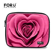 """for u ontwerpt 10 """"rose afdrukken laptop sleeve case voor de iPad"""
