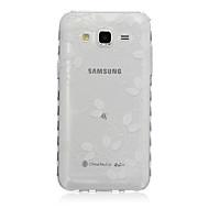 Για Samsung Galaxy Θήκη Διαφανής / Με σχέδια tok Πίσω Κάλυμμα tok Φτερό TPU SamsungJ7 / J5 / J3 / J2 / J1 Ace / J1 / Grand Prime / Core