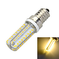 E14 Dimmable 6W 500lm 3000K/6500K 72-SMD 3014 LED Warm/Cool White Light Bulb Lamp (AC 220-240V)