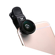 ABS Fish-eye lens Groothoeklens 10X en groter 180 Universeel iPad Note 4 Note 2 iPhone 5 iPhone 6