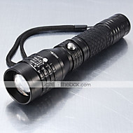 Lights LED Flashlights/Torch LED 1200 Lumens 5 Mode Cree XM-L T6 18650 / AAAWaterproof / Rechargeable / Impact Resistant / Tactical /