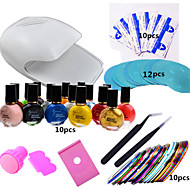 1 set nail art tisk kit