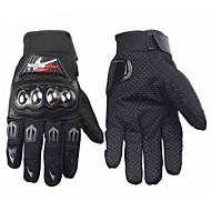 Γάντια Μοτοσυκλέτας Ολόκληρο το Δάχτυλο Πολυαιθουράνιο / Βαμβάκι / Νάιλον M / Μ / XL Μαύρο