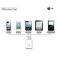 porta switch illuminazione androide di micro adattatore USB turno 8pin per iphone / 5/6 oltre al supporto ios8 / 7 carica e il