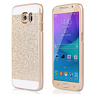 ל מגן סמסונג גלקסי עמיד בזעזועים מגן כיסוי אחורי מגן נוצץ PC Samsung S6 edge plus / S6 edge / S6 / S5 / S4 / S3