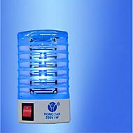 1 adet yeni 220V / 110v sinek böcek böcek tuzağı kumandası reppller ab fişli elektrikli sivrisinek katili gece lambası led