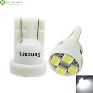 T10 149 168 W5W 4 x SMD 3528 LED  6500K  Car Tail Light  / Instrument Lamp  (DC12V / 2 PCS)