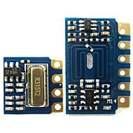 mini rf lähetin vastaanotin moduuli 315MHZ langattoman linkin pakki Arduino - sininen + musta