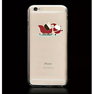 Kerstman patroon TPU soft phone case voor de iPhone 5 / 5s