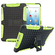 TPU+ PC Hybrid Rugged Rubber Armor stand Hard Cover Cases For iPad Mini 3/2/1