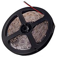z®zdm led strip valodiodi 3528smd 300led vedenpitävä IP44 sininen / punainen valo DC12V 5m / erä