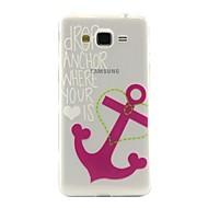 Mert Samsung Galaxy tok Átlátszó / Minta Case Hátlap Case Horgony TPU Samsung J5 / J2 / Grand Prime / Core Prime
