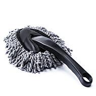 polvere sporcizia auto pulizia spolverino spolverare pennello pulito strumento straccio grigio