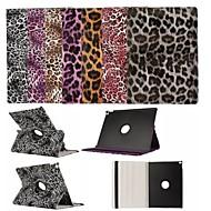 360 fokban elforgatható leopárdmintás mintázat kiváló minőségű PU bőr tok iPad pro 12,9 hüvelykes (vegyes színek)