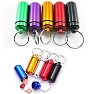 Travel Inflated Mat / Travel Pill Box/Case Waterproof / Sealed Travel Accessories for Emergency Metal