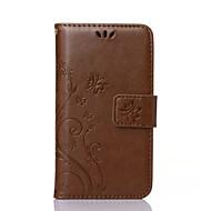 Voor Samsung Galaxy hoesje Kaarthouder / Portemonnee / met standaard / Flip / Reliëfopdruk hoesje Volledige behuizing hoesje Vlinder