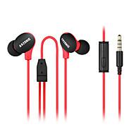 alta qualidade do esporte ultralight fones de ouvido fone de ouvido diy música para redução de ruído de microfone anti-suor / impermeável
