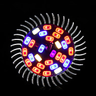 morsen®28w e27 spettro completo principale coltiva le luci 28 LED lampada per luce idroponica fiore pianta
