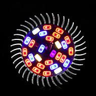 morsen®28w E27 fulde spektrum førte vokse lyser 28 lysdioder lampe til blomst plante hydroponics lys