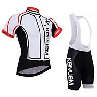 Conjuntos de Roupas/Ternos ( Branco / Vermelho / Preto ) - de Ciclismo - Unissexo -Impermeável / Respirável / Isolado / Secagem Rápida /