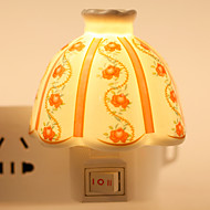Creative Designed Bowl-shape Ceramic Lamp Night Light Bedside Lamp Fragrance