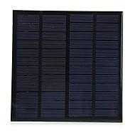 3w 12v letvægts polykrystallinsk silicium solcelle til DIY oplader