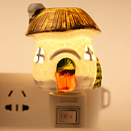 kreativ design soppformede keramiske lampe nattlys nattbordlampe duft