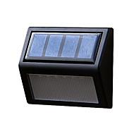 potere del pannello solare 6 LED hall muro luce percorso recinzione casa esterno lampada da giardino gradino cantiere illuminazione a led