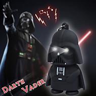 LED svítilna klíčenka Darth Vader Star Wars yoda keychains Anakin Skywalker postava Přívěsky
