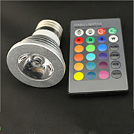 E27 Remote LED / RGB Spotlights Colorful Christmas Lights Decoration Lamp