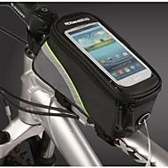 ROSWHEEL® Bolsa de Bicicleta 1.2LLBolsa para Quadro de Bicicleta / Bolsa Celular Á Prova-de-Água / Vestível / Touch Screen / Telefone