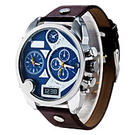 män diesel watch kvarts vattentät sportklocka kalender äkta läder armbandsur montre reloj relogio masculino