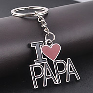 i aime papa porte-clés pour le cadeau