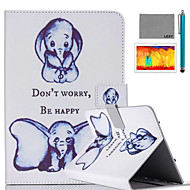 LEXY® Small Elephant Pattern PU Leather Flip Stand Case with Screen Protector and Stylus for iPad Air/iPad 5